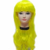 롱헤어 긴생머리가발 (옐로우)