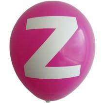 영문 알파벳 이니셜풍선 ( Z )