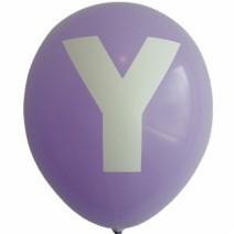 영문 알파벳 이니셜풍선 ( Y )