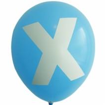 영문 알파벳 이니셜풍선 ( X )