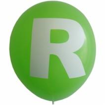 영문 알파벳 이니셜풍선 ( R )