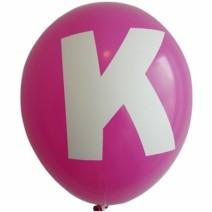 영문 알파벳 이니셜풍선 ( K )