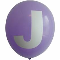 영문 알파벳 이니셜풍선 ( J )