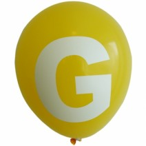 영문 알파벳 이니셜풍선 ( G )