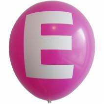영문 알파벳 이니셜풍선 ( E )