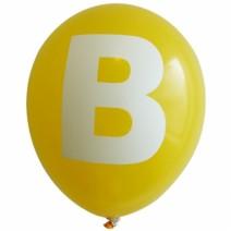 영문 알파벳 이니셜풍선 ( B )