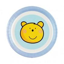 파티접시 블루베어 (소) 6개