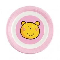 파티접시 핑크베어 (소) 6개