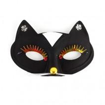 고양이눈가면(블랙)