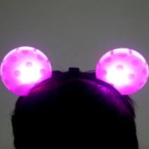 라이트미키머리띠(핑크)