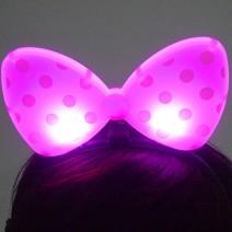 라이트리본머리띠(핑크)