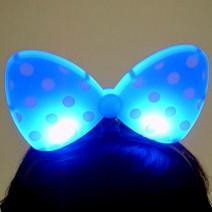 라이트리본머리띠(블루)