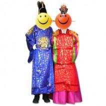 전통혼례복/폐백의상/장옷/옛날예복