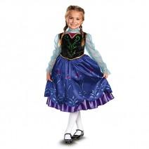 디즈니 프로즌 안나 디럭스 드레스(4~6세)