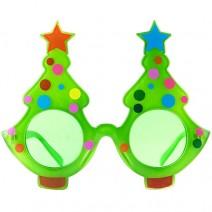 크리스마스 트리안경 (그린)