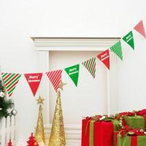 삼각파티플래그 (크리스마스)