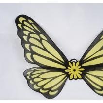 노랑나비날개