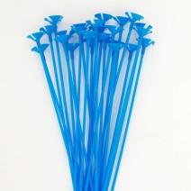 풍선용 칼라컵스틱 (24개) - 블루