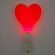 LED 칼라 하트봉 (레드)