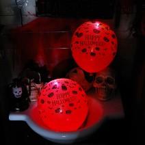 LED점등 할로윈풍선5개입 (해피할로윈)