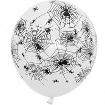 할로윈 풍선 (거미줄화이트)