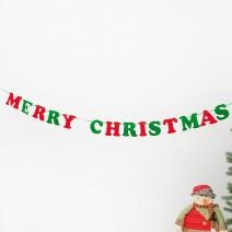 펠트 크리스마스 레터배너