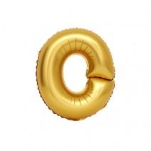 알파벳 은박풍선 (소) 골드 - O