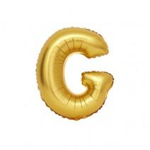 알파벳 은박풍선 (소) 골드 - G