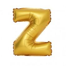 알파벳 은박풍선 (대) 골드 - Z