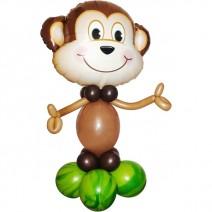 동물은박풍선 원숭이 (원팩포장)