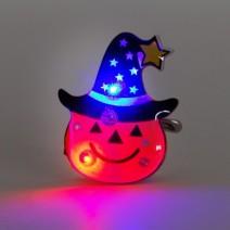 LED점등 호박플래쉬라이트 모자쓴펌프킨