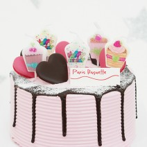 컵케익 생일데코캔들(5입)
