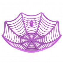 할로윈 거미줄접시 (퍼플)
